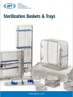 Sterilization baskets and trays