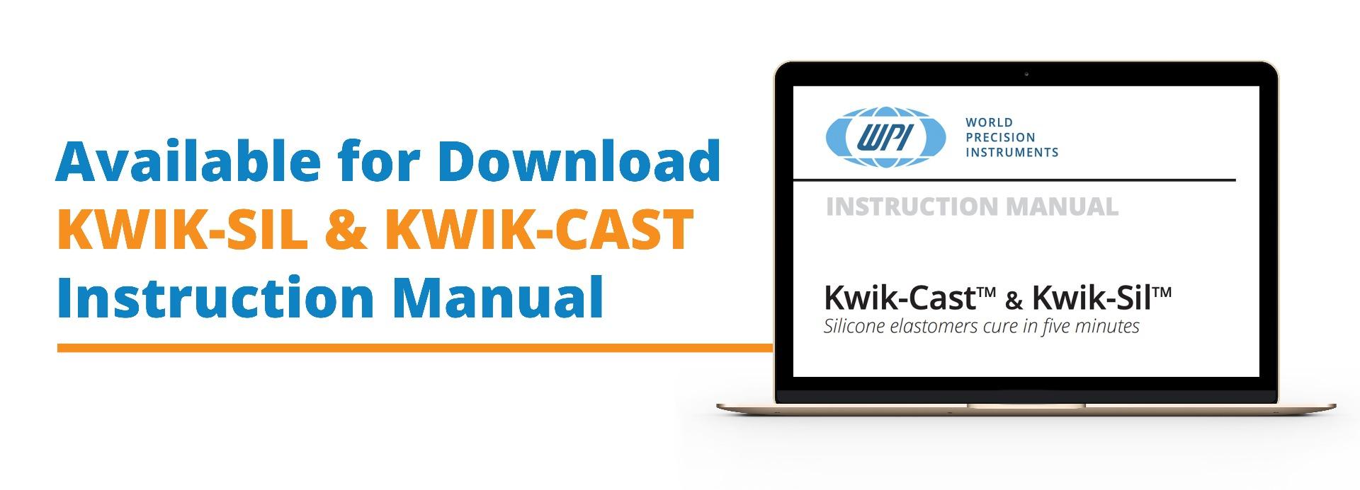 Kwik-Sil Kwik-Cast Instruction Manual