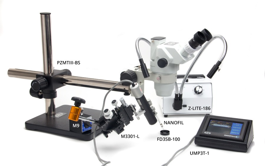 Microinjection Setup with one nanoliter