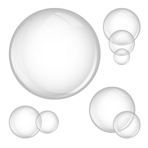 detergent bubbles