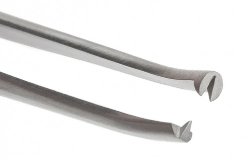 Closeup of the tips of the 501216-G