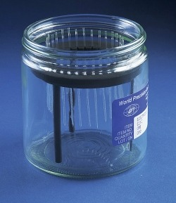 E210 Micropipette storage jar