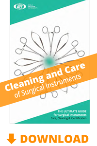 Surgical Instrument Care and Cleaning Booklet