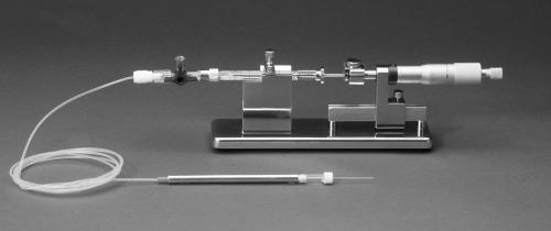 MMP manual microsysringe pump
