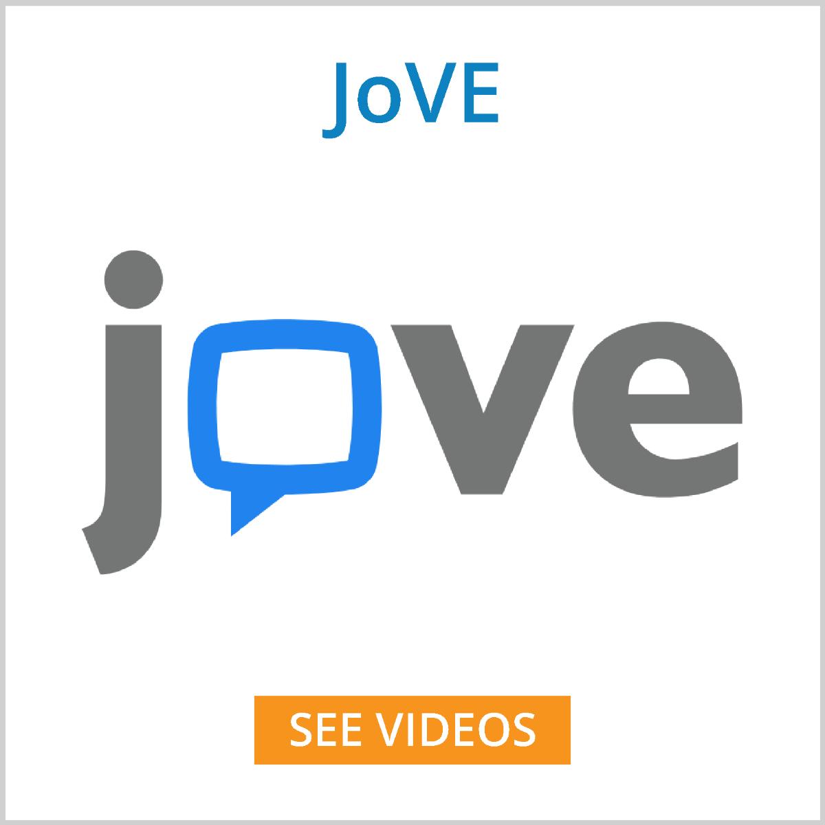 JoVE videos