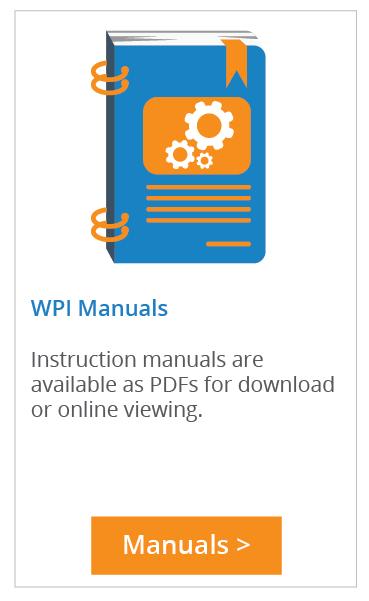 Find WPI Manuals