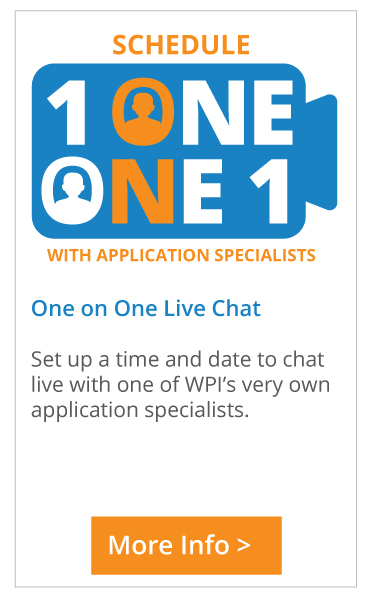 Schedule one on one meeting with application specialists
