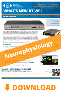 Download the Neurophysiology products brochure
