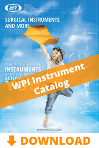 Download the WPI Surgical Instrument Catalog