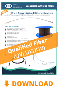 Download the QVLUXDUV Optical Fiber brochure