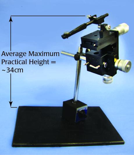 M325 three axis manual micromanipulator